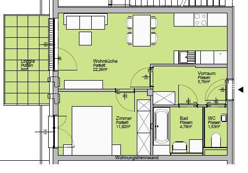 Immobilie von Lebensräume in 4560 Kirchdorf an der Krems, Dr.-Wayand-Ring 26 - 8 / 1 #0