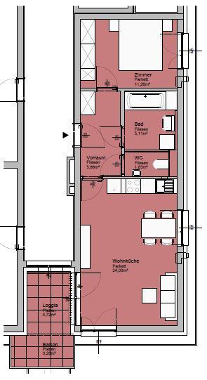 Immobilie von Lebensräume in 4560 Kirchdorf an der Krems, Dr.-Wayand-Ring 26 - 6 / 1 #0