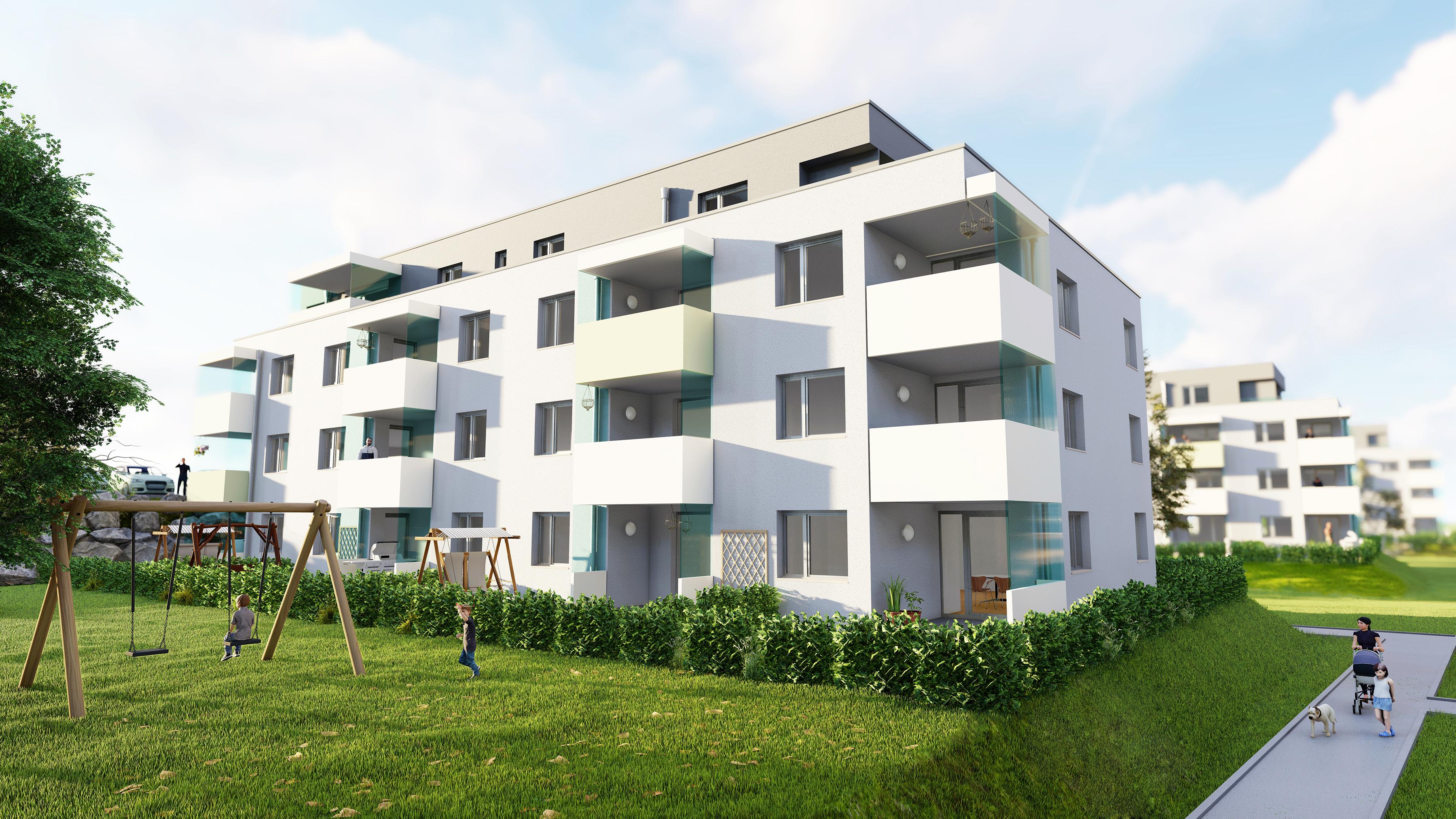 Immobilie von Lebensräume in 4490 St. Florian, Karl-Geisz-Straße 11 - 6.1 / EG #0